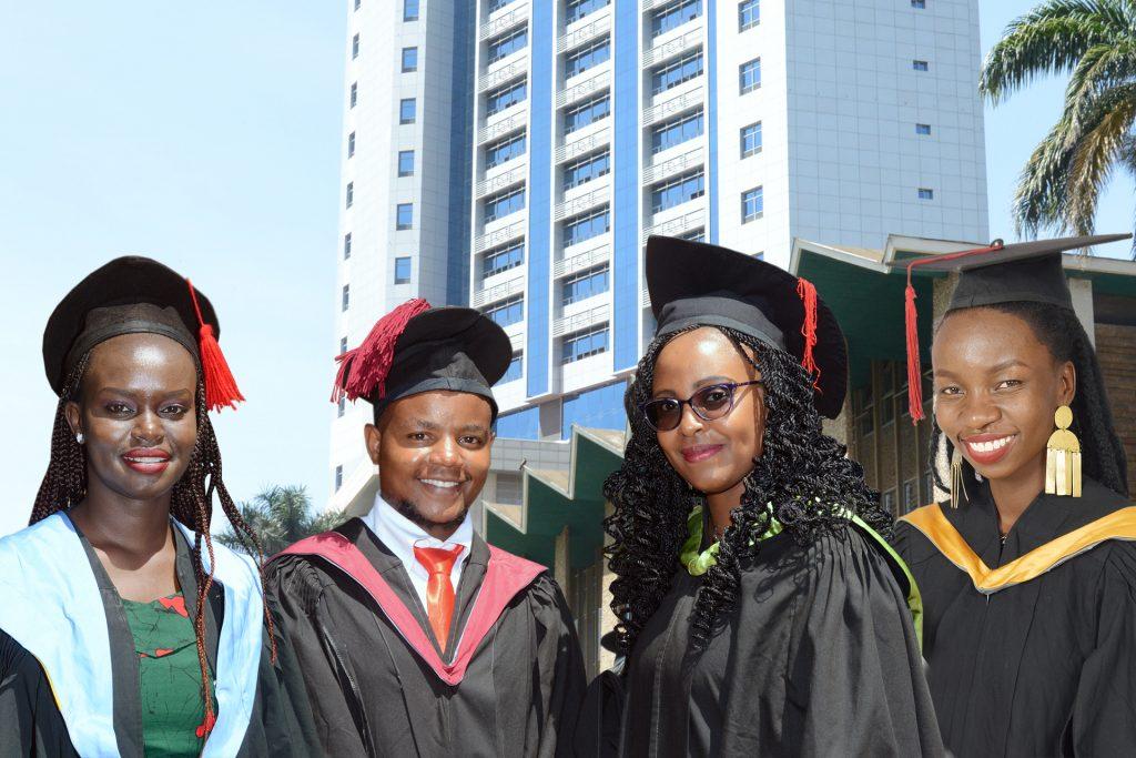 Barbara Chemutai – Bachelor of Medicine and Surgery; Emmanuel Kimemia – Bachelor of Education (Science); Margaret Kang'ang'i – Bachelor of Economics; Carol Nita Kuyo – Bachelor of Arts.