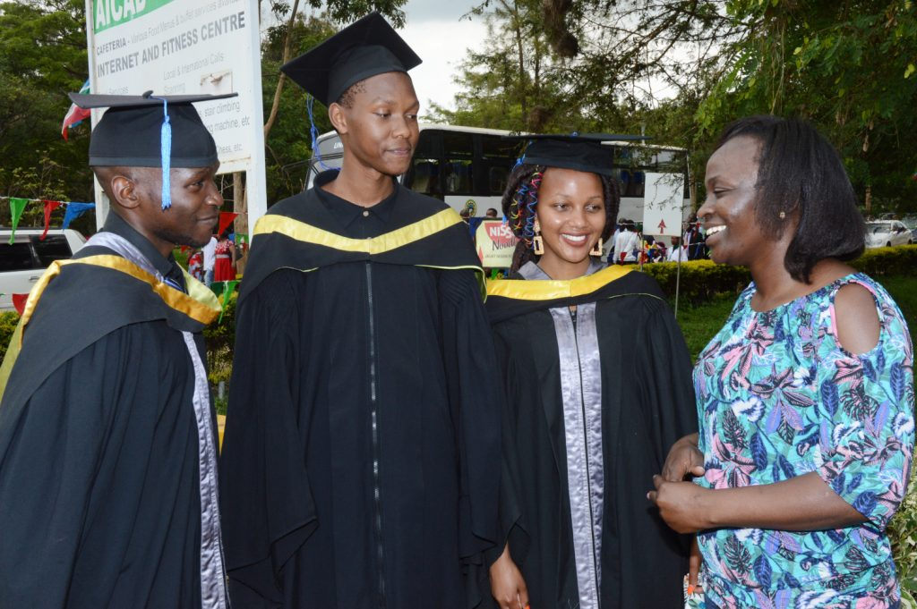 Kevin Otieno – Bachelor of Medicine and Surgery; Martin Mumo – Actuarial Science; Nelius Wainaina – Bsc Nursing; Ann Muigai – Coop Foundation Staff